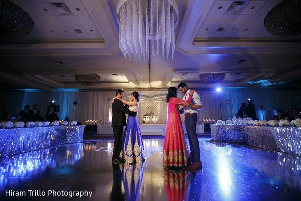 Reception in Irving, TX Indian Wedding by Hiram Trillo Art Photography