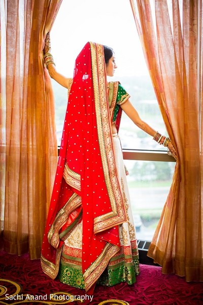 Dupatta in Overland Park, KS Indian Wedding by Sachi Anand Photography