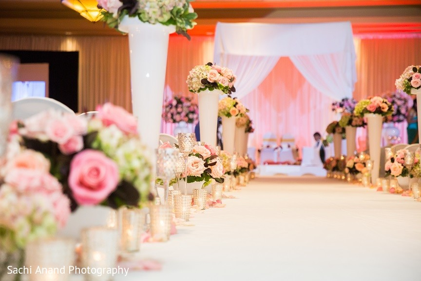 Ceremony Decor In Overland Park KS Indian Wedding By Sachi Anand Photography