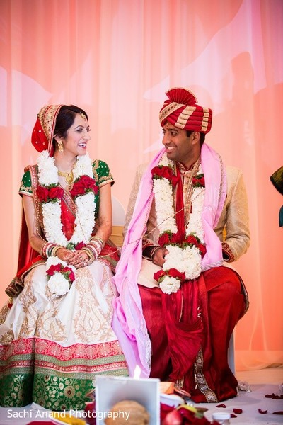 Ceremony in Overland Park, KS Indian Wedding by Sachi Anand Photography