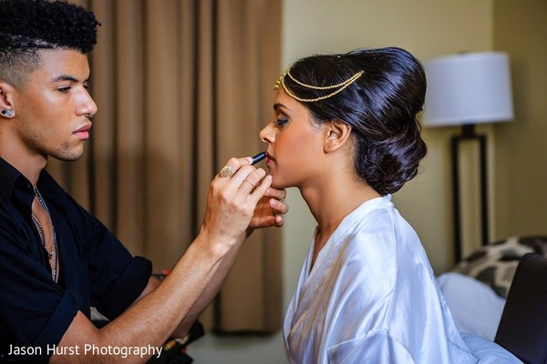 Getting Ready in Savannah, GA Indian Wedding by Jason Hurst Photography