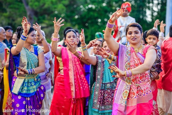 Baraat in Savannah, GA Indian Wedding by Jason Hurst Photography