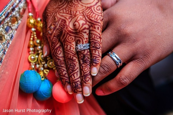 Reception Portrait in Savannah, GA Indian Wedding by Jason Hurst Photography