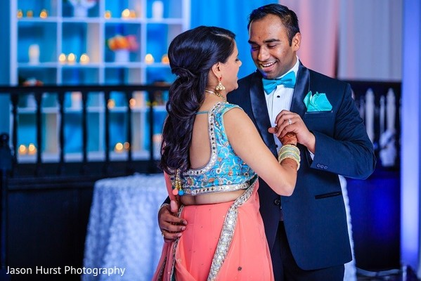 Reception in Savannah, GA Indian Wedding by Jason Hurst Photography