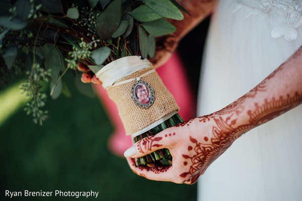 Mehndi'd Hands in Shokan, New York Fusion Wedding by Ryan Brenizer Photography