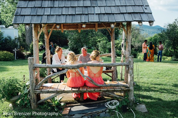 Reception in Shokan, New York Fusion Wedding by Ryan Brenizer Photography