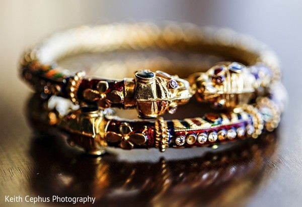 Bridal Jewelry in Portsmouth, VA Indian Wedding by Keith Cephus Photography