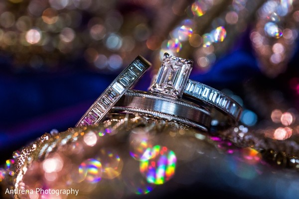 Bridal Jewelry in Rancho Palos Verdes Indian Fusion Wedding by Andrena Photography