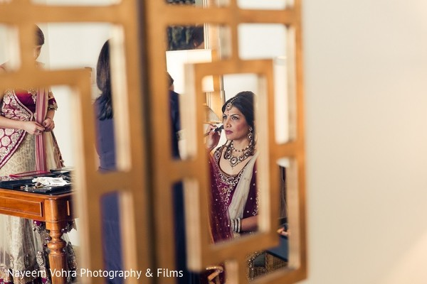 Getting Ready in Amelia Island, FL Indian Fusion Destination Wedding by Nayeem Vohra Photography & Films