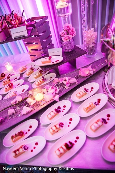 Dessert Table in Amelia Island, FL Indian Fusion Destination Wedding by Nayeem Vohra Photography & Films