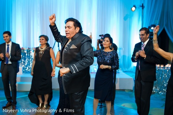 Reception in Amelia Island, FL Indian Fusion Destination Wedding by Nayeem Vohra Photography & Films