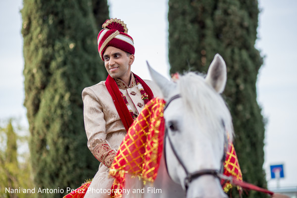 Baraat in Spain Destination Indian Wedding by Nani de Perez Photography & Films
