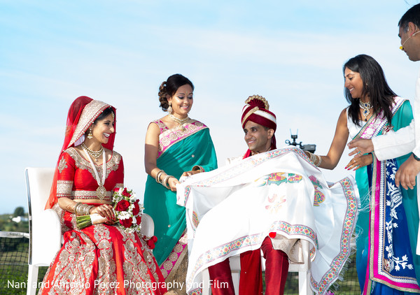 Indian Wedding Ceremony in Spain Destination Indian Wedding by Nani de Perez Photography & Films