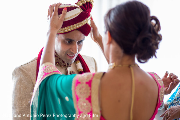 Groom Getting Ready in Spain Destination Indian Wedding by Nani de Perez Photography & Films