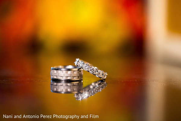Wedding Rings in Spain Destination Indian Wedding by Nani de Perez Photography & Films