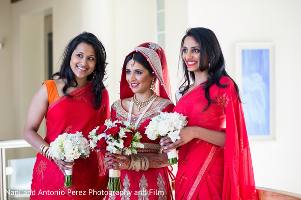 Bridal Party Portraits in Spain Destination Indian Wedding by Nani de Perez Photography & Films