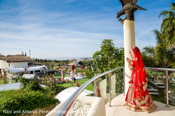 Bridal Portraits in Spain Destination Indian Wedding by Nani de Perez Photography & Films