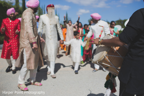 Baraat in Westlake Village, CA Fusion Wedding by Harper Point Photography