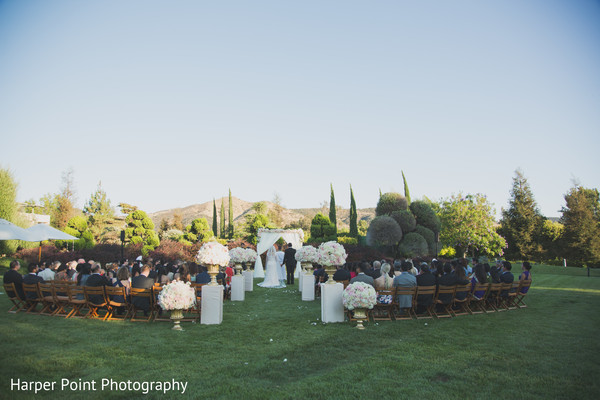 Christian Ceremony in Westlake Village, CA Fusion Wedding by Harper Point Photography