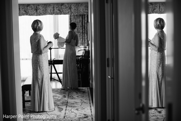 Bride Getting Ready in Westlake Village, CA Fusion Wedding by Harper Point Photography