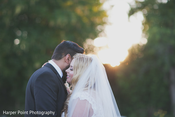 Wedding Portraits in Westlake Village, CA Fusion Wedding by Harper Point Photography