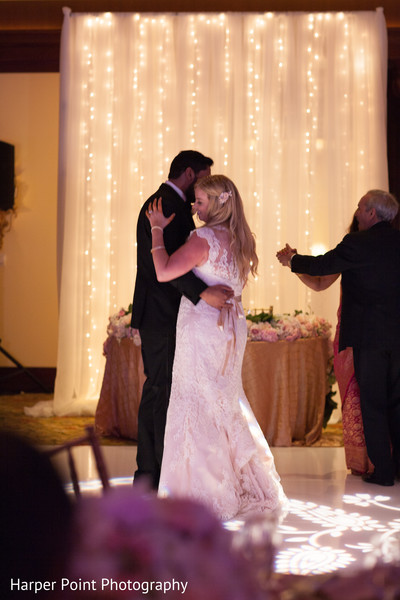 First Dance in Westlake Village, CA Fusion Wedding by Harper Point Photography