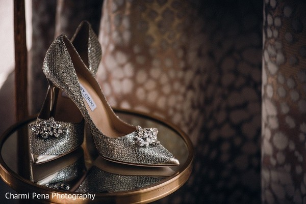 Shoes in New York, NY Indian Wedding by Charmi Pena Photography