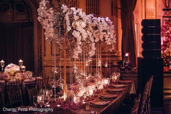 Floral & Decor in New York, NY Indian Wedding by Charmi Pena Photography