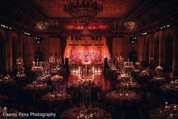 Venue in New York, NY Indian Wedding by Charmi Pena Photography