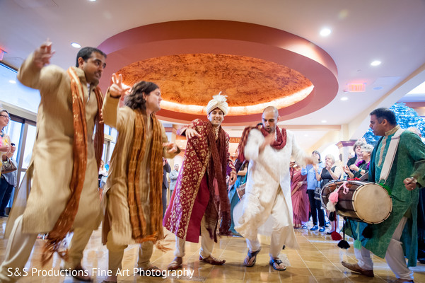 Baraat in Norman, Oklahoma Fusion Wedding by S&S Productions Fine Art Photography