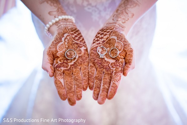 Wedding Rings in Norman, Oklahoma Fusion Wedding by S&S Productions Fine Art Photography