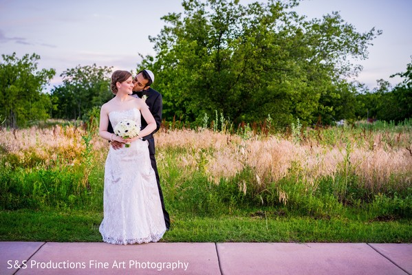 Reception Portraits in Norman, Oklahoma Fusion Wedding by S&S Productions Fine Art Photography