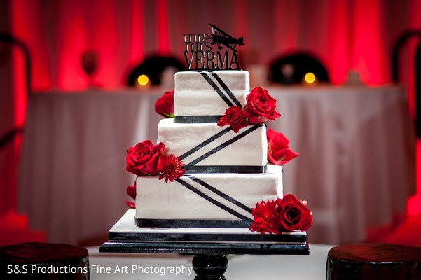 Wedding Cake in Norman, Oklahoma Fusion Wedding by S&S Productions Fine Art Photography