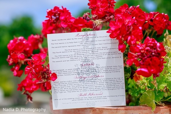 Stationery in Sonoma, CA Indian Wedding by Nadia D. Photography