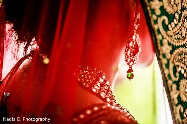 Dupatta in Sonoma, CA Indian Wedding by Nadia D. Photography