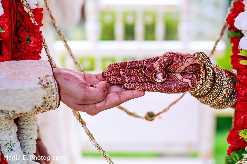 Ceremony in sonoma ca indian wedding by nadia d for Indian jewelry in schaumburg il