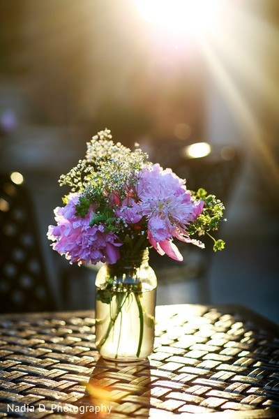 Floral & Decor in Sonoma, CA Indian Wedding by Nadia D. Photography