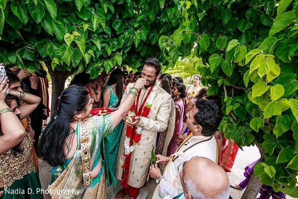 Baraat in Sonoma, CA Indian Wedding by Nadia D. Photography
