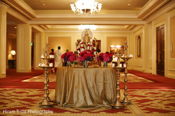 Ceremony Decor in Dallas, TX South Indian Fusion Wedding by Hiram Trillo Art Photography