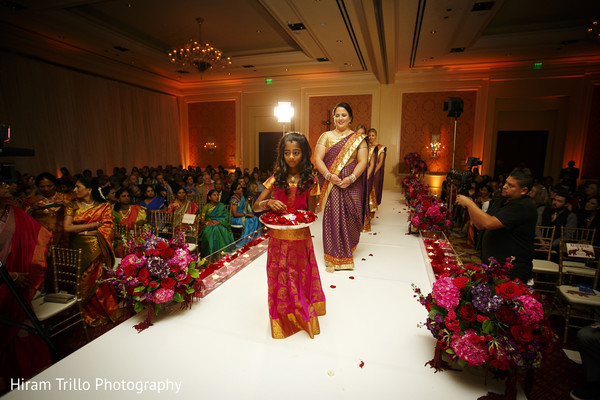 Ceremony in Dallas, TX South Indian Fusion Wedding by Hiram Trillo Art Photography