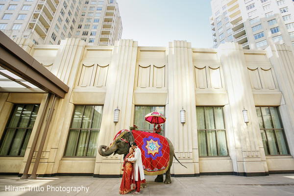 Wedding Portrait in Dallas, TX South Indian Fusion Wedding by Hiram Trillo Art Photography