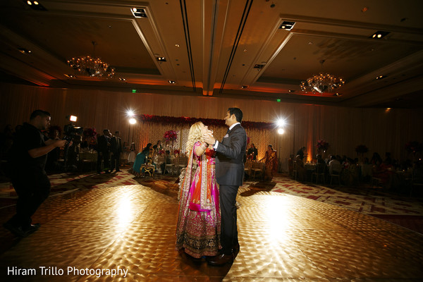 Reception in Dallas, TX South Indian Fusion Wedding by Hiram Trillo Art Photography