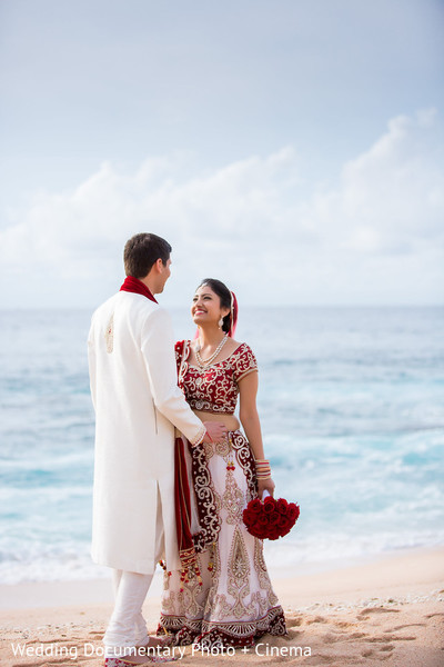 First Look in Los Cabos, Mexico Indian Destination Wedding by Wedding Documentary Photo + Cinema