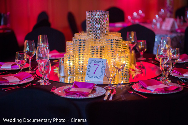 Table Decor in Los Cabos, Mexico Indian Destination Wedding by Wedding Documentary Photo + Cinema