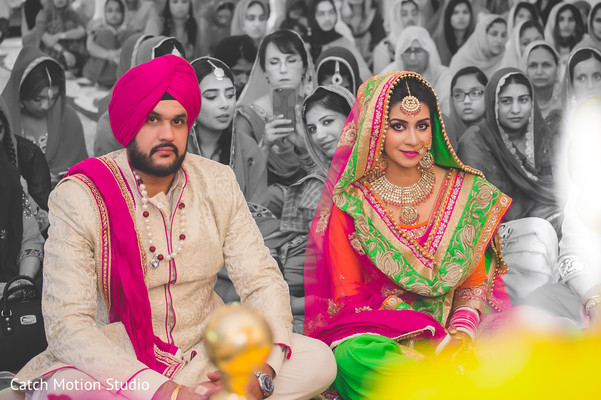 Sikh Ceremony In Annapolis MD Wedding By Catch Motion Studio