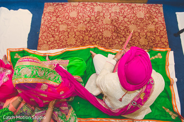 Sikh Ceremony in Annapolis, MD Sikh Wedding by Catch Motion Studio