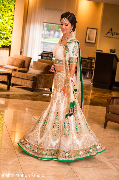 Bridal Reception Portraits in Annapolis, MD Sikh Wedding by Catch Motion Studio