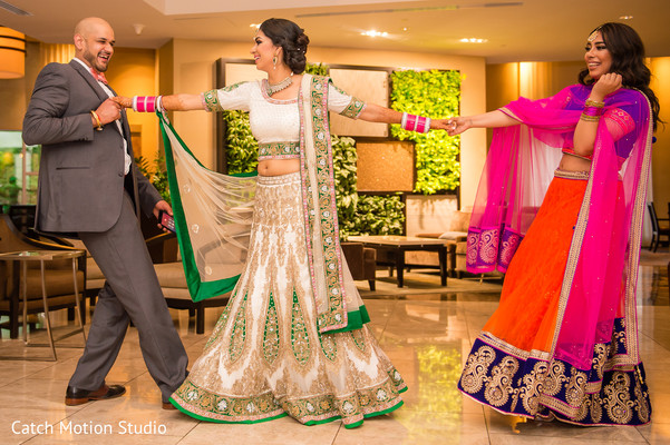 Reception Portraits in Annapolis, MD Sikh Wedding by Catch Motion Studio