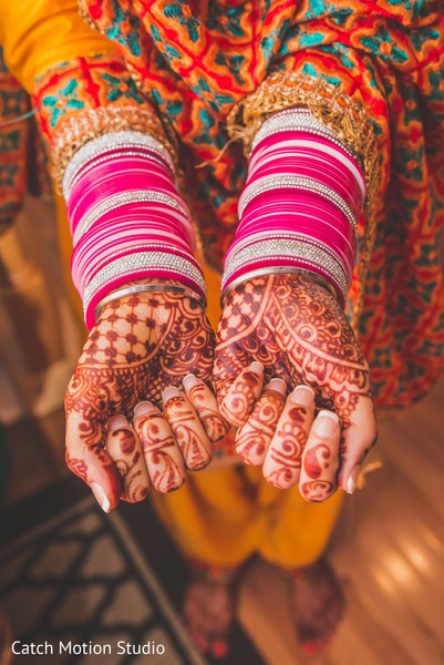 Mehndi Hands in Annapolis, MD Sikh Wedding by Catch Motion Studio