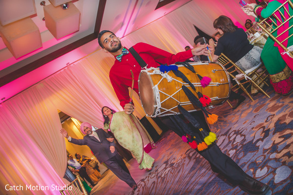 Reception in Annapolis, MD Sikh Wedding by Catch Motion Studio
